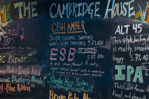 The Cambridge House Chalkboard